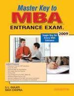 Master Key To MBA Entrance Exam 2009 01 Edition (Paperback)