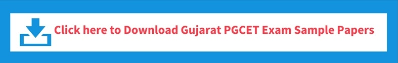 Gujarat PGCET Mock/ Sample Test Paper