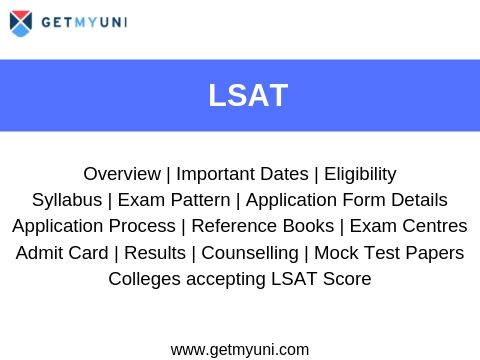 Learn about LSAT exam dates, registration, admit card, result