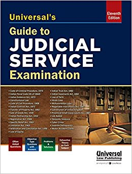 Guide to Judicial service examinations by Universal
