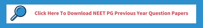 NEET PG previous years question papers
