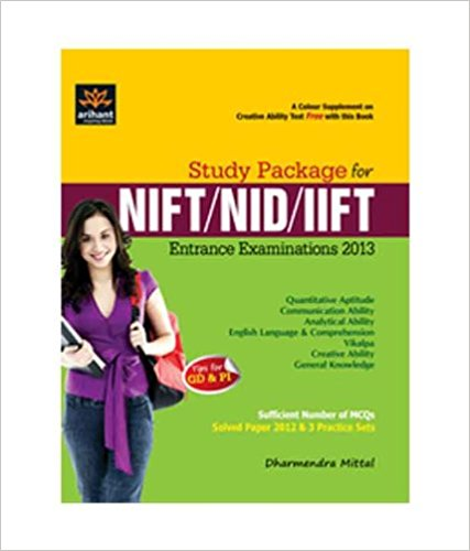 Study Package for NIFT/NID/IIFT