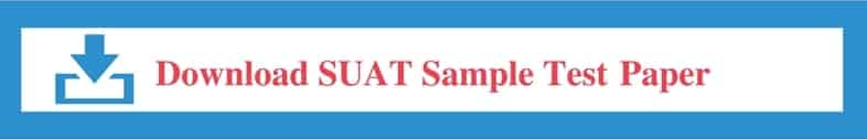 SUAT Sample Papers