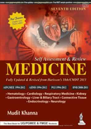 Self-Assessment and Review Medicine by Mudit Khanna