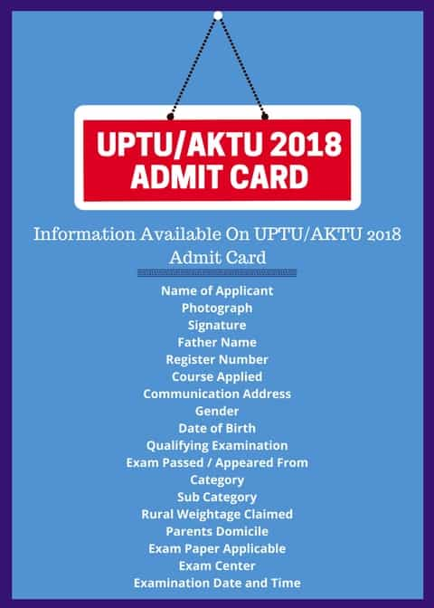 UPSEE 2018 Admit Card UPSEE 2019