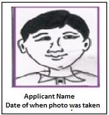 NEET 2019 Example of face image