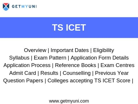 TSICET - Exam Dates, Registration, Admit Card, Result, Admission