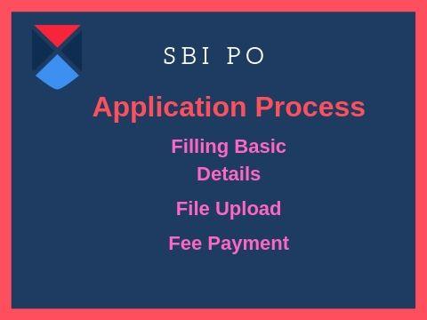 SBI PO Registration in 3 steps