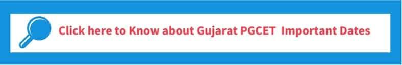 Gujarat PGCET 2019 Important Dates