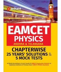 AP EAMCET Physics (Andhra & Telangana) Chapter-wise 25 Years' Solutions and 5 Mock Tests by Arihant Experts
