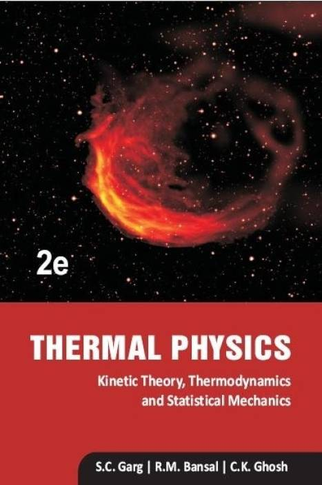 IIT JAM 2019 reference book Thermodynamics by Garg, Bansal and Ghosh