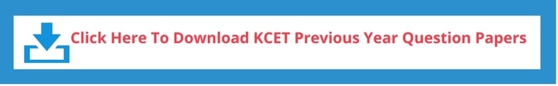 KCET Previous Year Question Papers