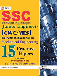 SSC (CPWD/MES) Mechanical Engineering 10 Solved Papers & 10 Practice Papers for Junior Engineers 2017