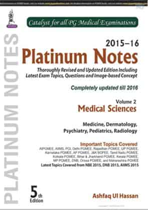 Platinum Notes – Medical Sciences Volume 2 by Ashfaq Ul Hassan