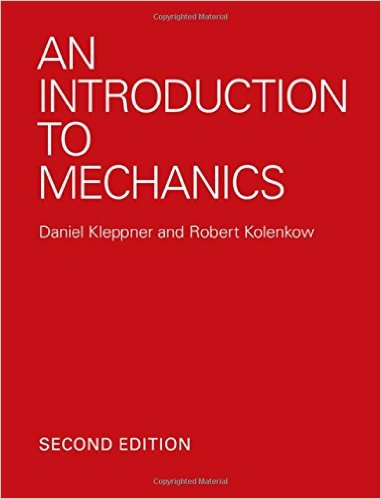IIT JAM 2019 Reference book Introduction to Mechanics by Kleppner and Kolenkow