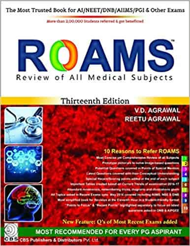 Roams Review of All Medical Subjects by Reetu Agrawal & V. D Agrawal