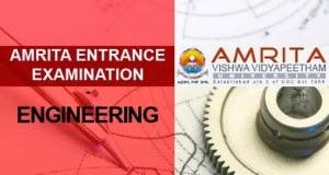 Amrita Engineering Entrance Examination [AEEE]
