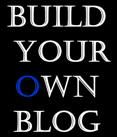 Build Your Own Blog New Writer Scholarship