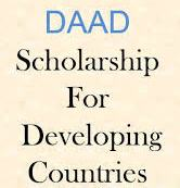 DAAD Scholarship for Students from Developing Countries 2015
