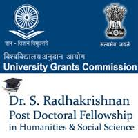 Dr S Radhakrishnan Postdoctoral Fellowship 2015 ( All India )