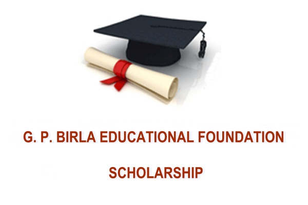 G.P. Birla Education Foundation Scholarship