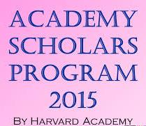 Harvard Academy Scholars Program 2015  ( Global )