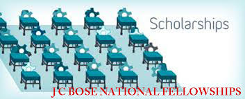 J C Bose National Fellowships 2015