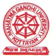 Mahatma Gandhi University Junior Research Fellowship 2015