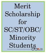 Merit Scholarship for College/Technical/Professional Institutions for SC/ST/OBC/Minorities (National Capital Territory of Delhi)
