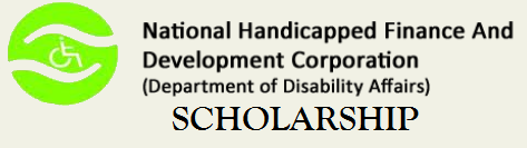 NHFDC Scholarship 2015 - Scholarship for differently abled students