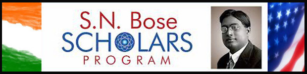 SN Bose Scholars Program 2016