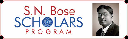 S.N. Bose Scholars Program  ( Student Exchange Program between India & US )