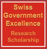 Swiss Government Excellence Research Scholarship 2016-17  ( All India )