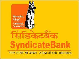 syndiacate bank recruitment 2019
