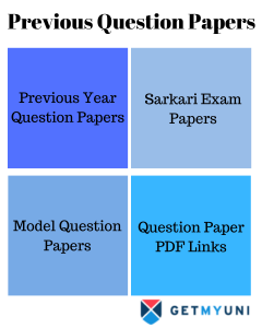 Pevious Year Question Papers|Download Previous Paper PDF, Solved Question Papers