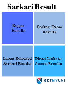 Sarkari Result, Sarkari Exam Results, Rojgar Results, Latest Released Sarkari Results