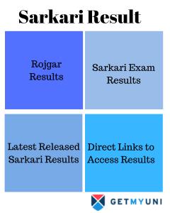 Sarkari Result|Sarkari Exam Results, Rojgar Results, Latest Released Sarkari Results